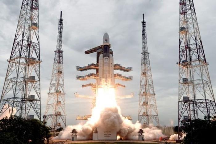 Peluncuran Chandrayaan-2. Foto: ISRO