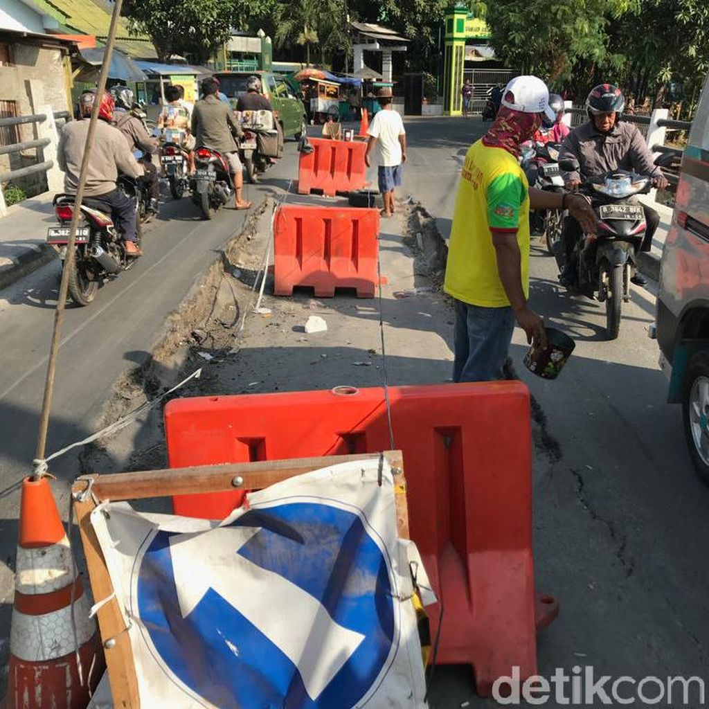 Bina Marga DKI akan Bangun Ulang Jembatan di Tegal Alur yang Amblas