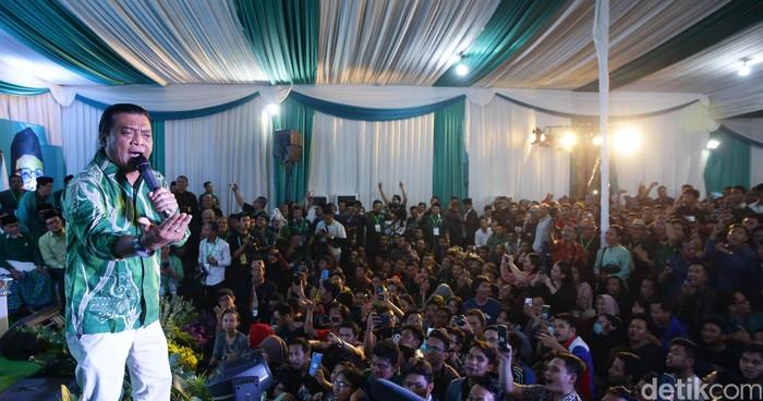 Perayaan hari lahir Partai Kebangkitan Bangsa (PKB) dimeriahkan oleh Didi Kempot. Didi Kempot dan Muhaimin Iskandar sempat bernyanyi bersama dalam acara yang digelar di kantor DPP PKB, Jl Raden Saleh, Jakarta Pusat, Selasa (23/7/2019).