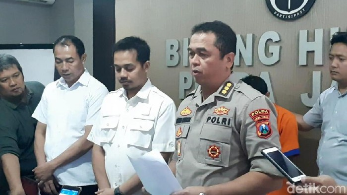 Kabid Humas Polda Jatim Kombes Pol Frans Barung Mangera/Foto: Hilda Meilisa Rinanda