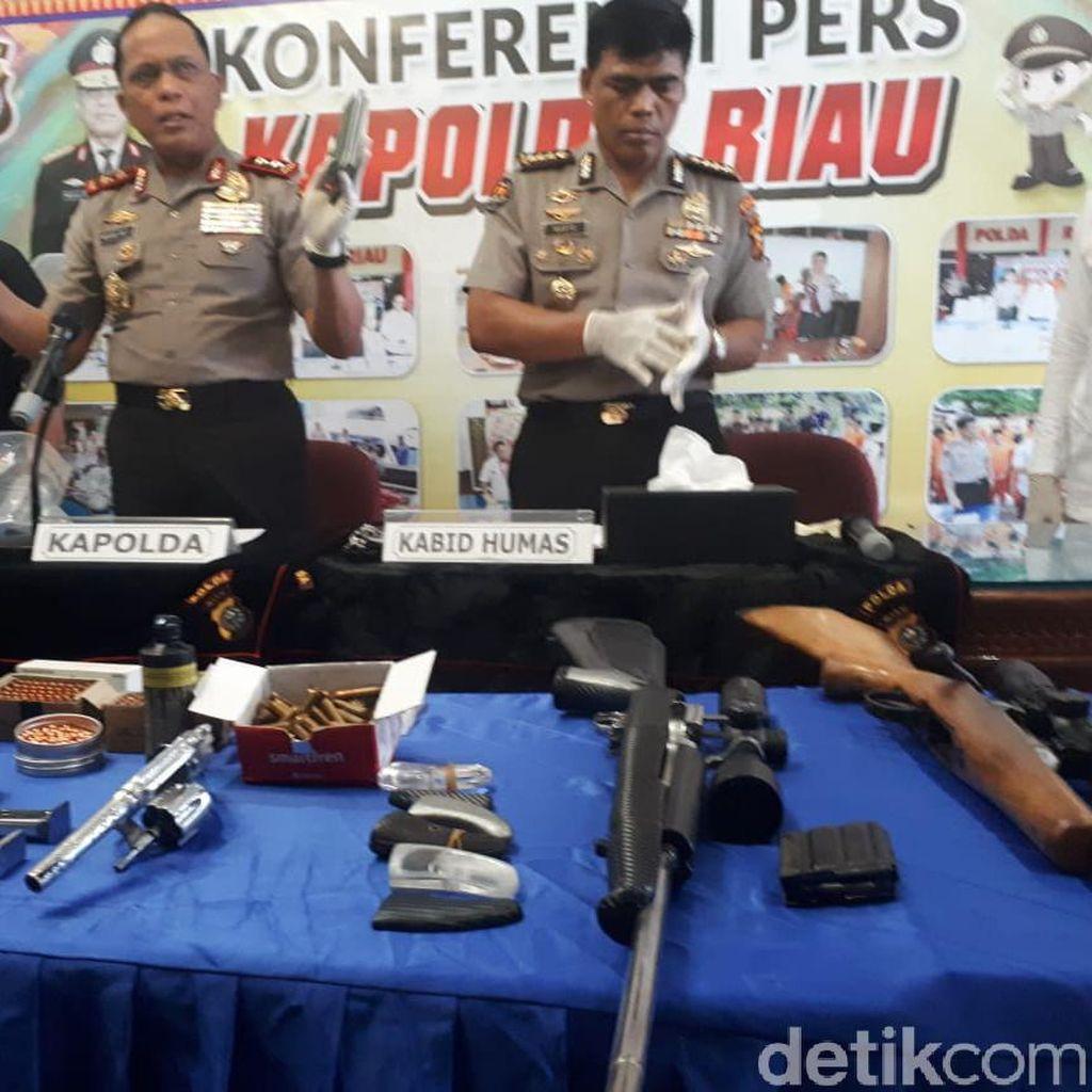 Penggerebekan Bandar Narkoba di Riau, 1 Polisi Kena Tembak