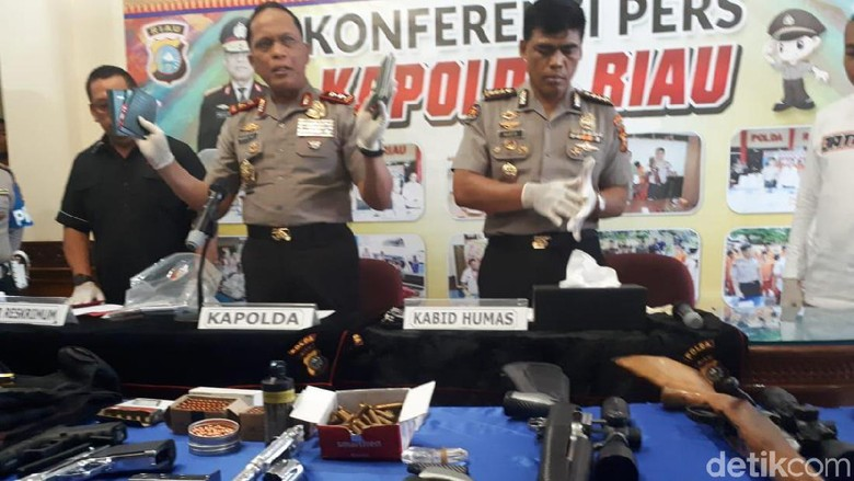 Baku Tembak Polisi-Bandar Narkoba di Riau, 2 Pelaku Tewas