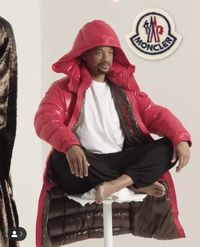 Pertamakalinya Jadi Model Fashion, Will Smith Digandeng Moncler