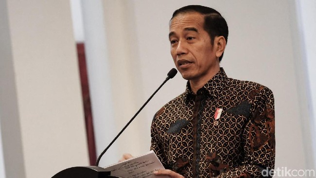 Presiden Joko Widodo (Jokowi)/Foto: Andhika Prasetya/detikcom