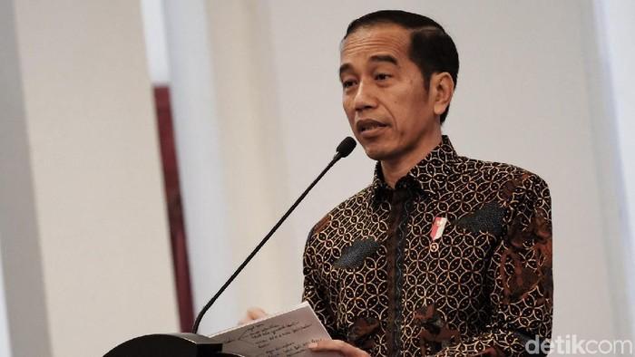Presiden Jokowi (Foto: Andhika Prasetya/detikcom)