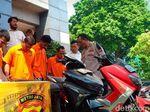 Duet Begal Motor Spesialis Wilayah Bogor-Bekasi Diciduk