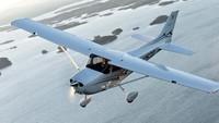 Cessna 172 Skyhawk, pertama kali diproduksi pada tahun 1956 dan hingga tahun 2015 sudah ada 44.000 ribu unit (Textron Aviation Inc)