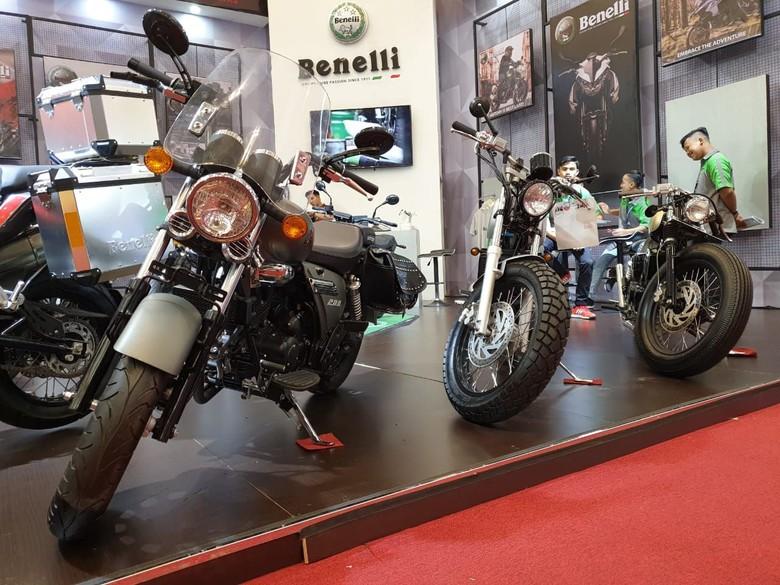 2 motor baru Benelli. 2 Motor Baru Benelli Mejeng di GIIAS 2019Foto: Luthfi Anshori