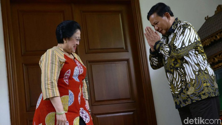 Momen Prabowo Pamitan dan Undang Megawati ke Hambalang