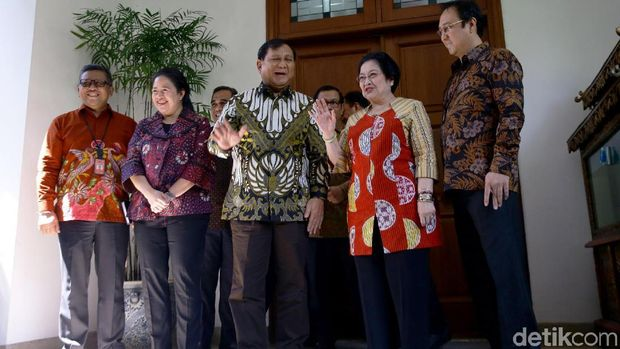 Megawati Bertemu Prabowo /