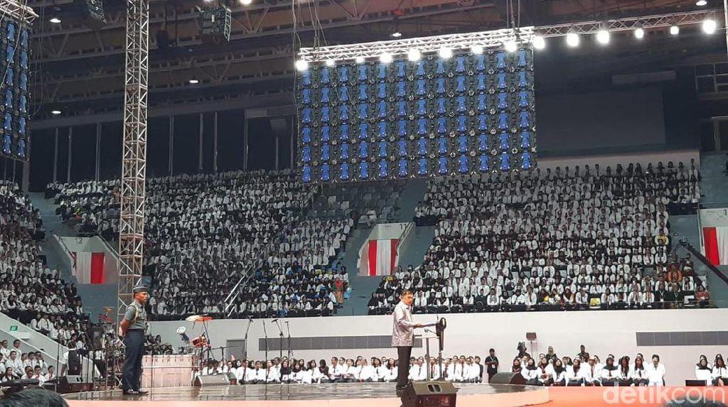 JK Beri Pembekalan ke Ribuan CPNS Baru di Senayan