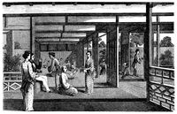 Ilustrasi kehidupan Jepang di zaman dulu (iStock)