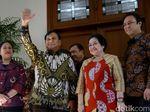 Suasana Pertemuan Prabowo-Megawati, Ada Puan hingga Budi Gunawan