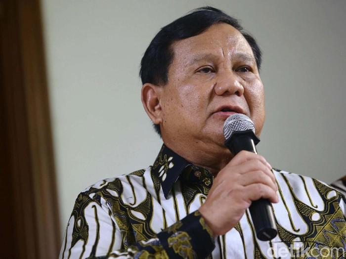 Prabowo Subianto (Foto: Grandyos Zafna/detikcom)