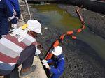 Pertamina Bersihkan Pantai Laut Jawa dari Tumpahan Minyak