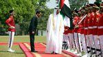 Momen Kebersamaan Jokowi dan Putra Mahkota Abu Dhabi di Istana Bogor