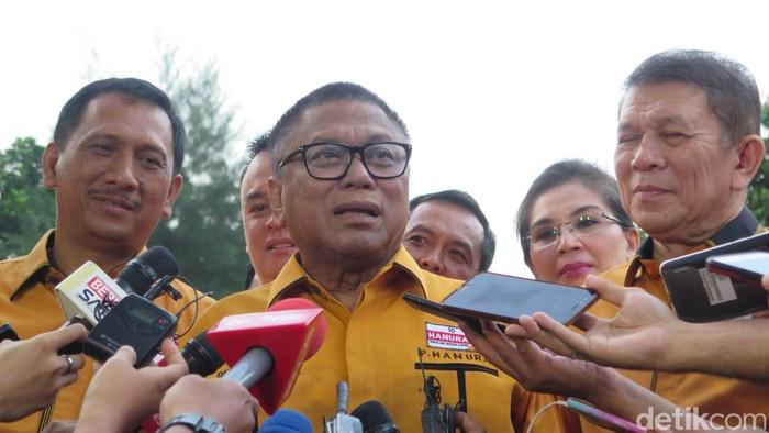 Ketua Umum Hanura Oesman Sapta Odang (OSO) (Andhika/detikcom)