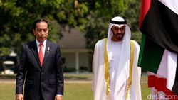 Bertemu Jokowi, Putra Mahkota Abu Dhabi Bawa Proyek Rp 140 T