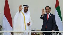 Jokowi dan Putra Mahkota Abu Dhabi Gelar Pertemuan Bilateral di Istana Bogor