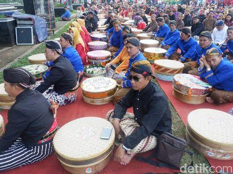 Pesta Rakyat Wonosobo, Makan Bersama di Kenduri 1.000 Tenong