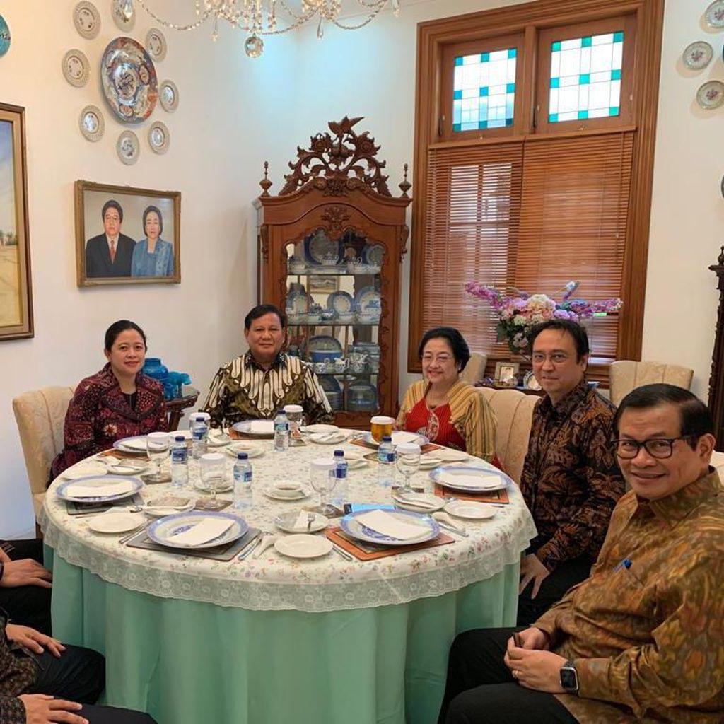 Megawati-Prabowo Ketemu, Waketum Gerindra: Top Mas BG!