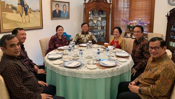 BIN Sebut BG Jadi Aktor Penting Pertemuan Prabowo-Megawati