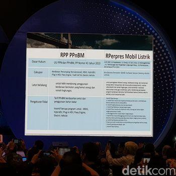 Draft aturan pajak mobil dan perpres mobil listrik