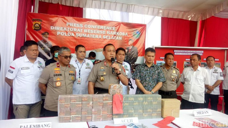 Bandar Sabu di Lapas Palembang Dijerat TPPU, Aset Rp 8,4 Miliar Disita