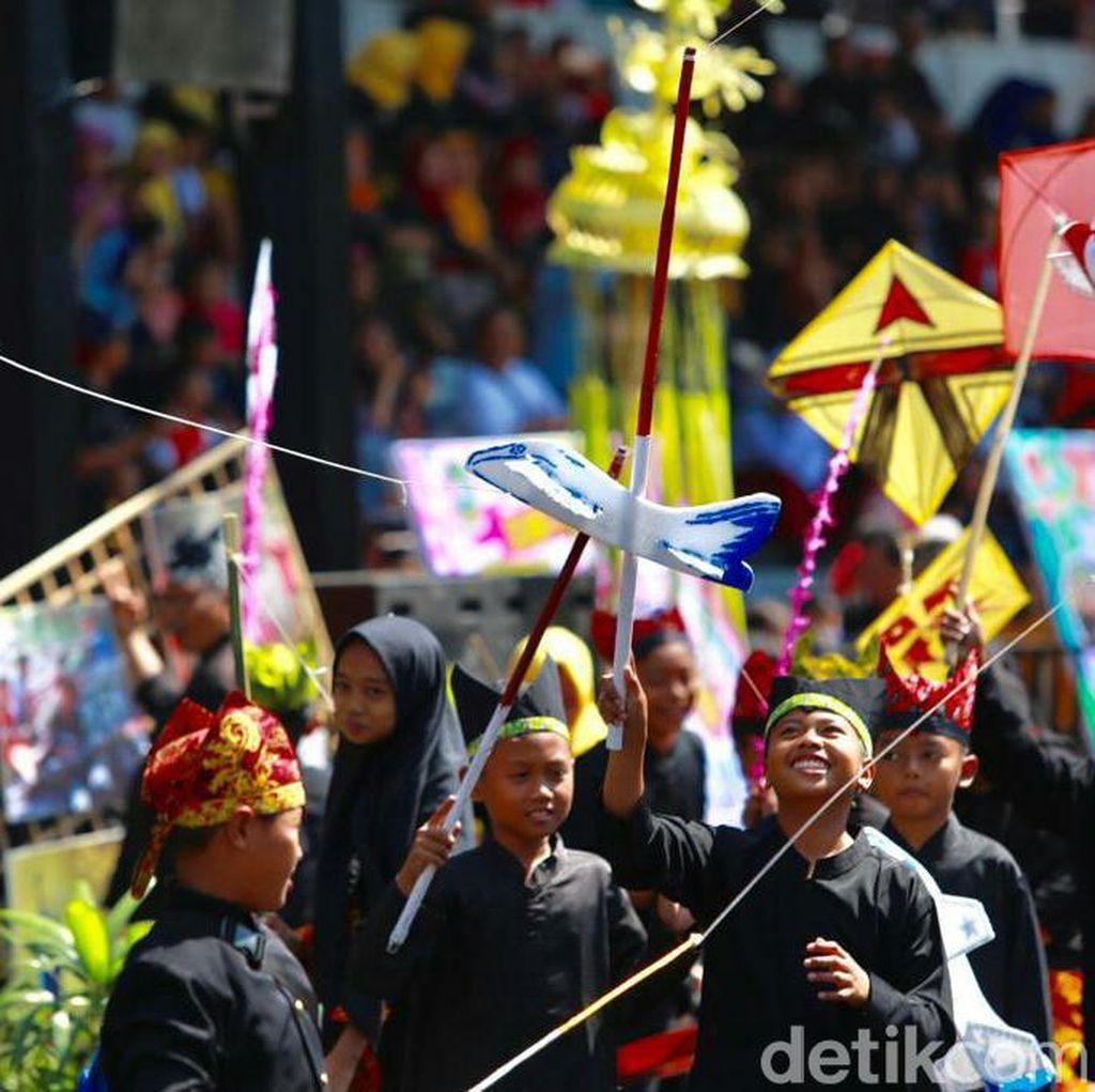 Detoks Gadget, Banyuwangi Gelar Festival Permainan Tradisional