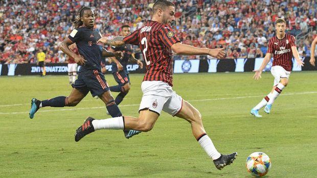 AC Milan sempat memberikan perlawanan kepada Bayern Munchen.