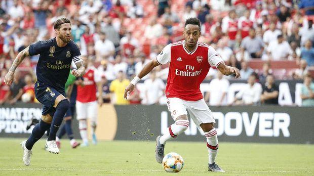 Pierre Emerick Aubameyang aset berharga Arsenal.