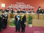 Wakil Ketua DPR Agus Hermanto Dikukuhkan Sebagai Guru Besar di Unnes