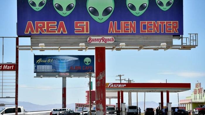 Ada Festival Alien di Dekat Area 51. (Foto: Getty Images)