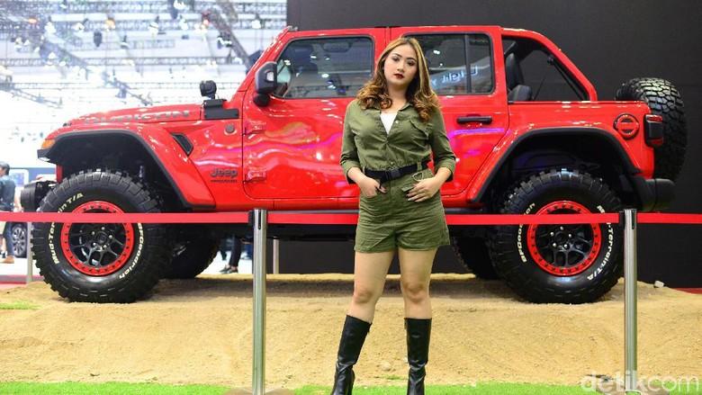 Jeep Wrangler Rubicon Foto: Ari Saputra