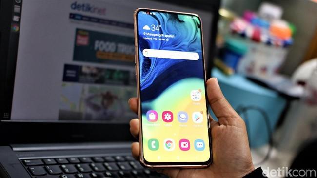 Samsung Galaxy A80, Unik dengan Kamera Pop-up Bolak-balik