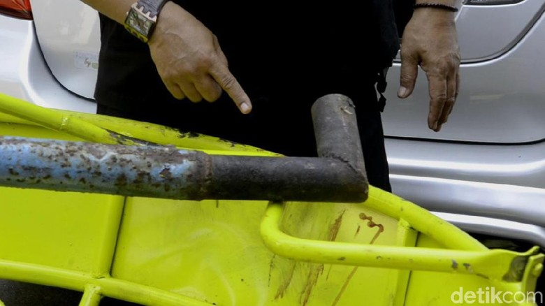 Penampakan Bagian Wahana Perahu Gila yang Patah dan Tewaskan 1 Remaja