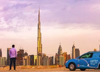Tak pula Wakker melewatkan pesona Dubai, UEA. (plugmeintravel/Instagram)