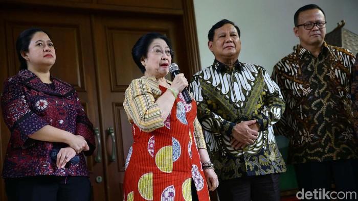 Pertemuan Megawati-Prabowo (Grandyos Zafna/detikcom)