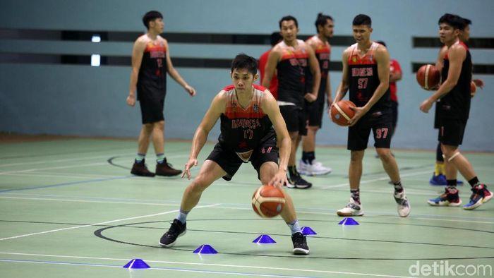 Timnas Basket Indonesia sudah bersiap untuk menatap event besar. (Foto: Agung Pambudhy)