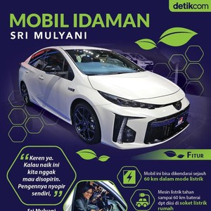Mobil Idaman Sri Mulyani
