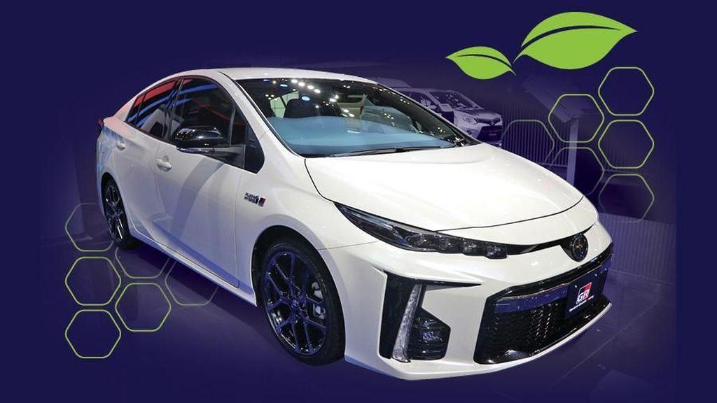 Soal Insentif Mobil Hybrid, Toyota Tergantung Pemerintah