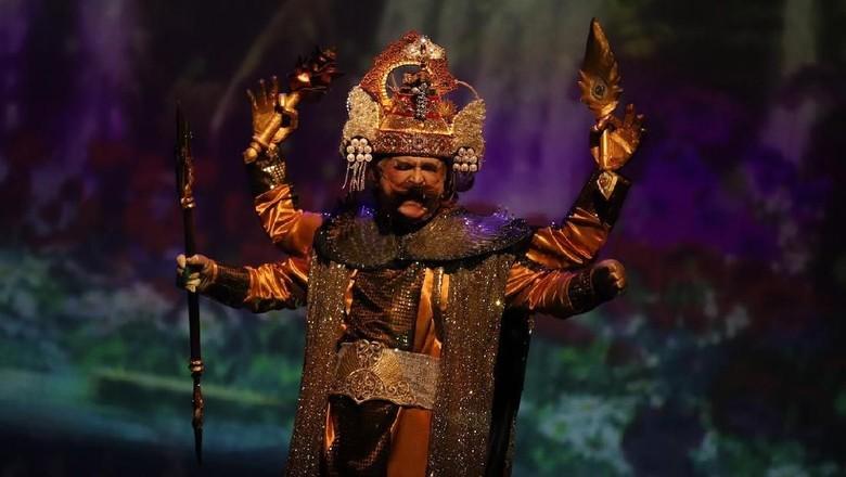 Foto: Slamet Rahardjo sebagai Batara Guru (Dok.image dynamics)