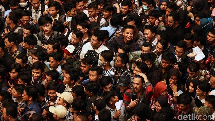 Ilustrasi Pencari Kerja/Foto: Rifkianto Nugroho