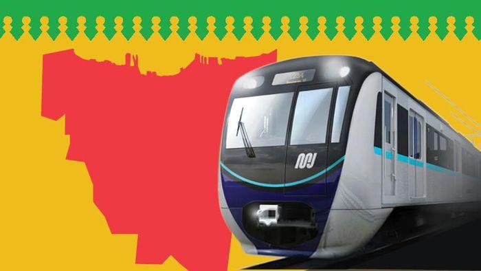 Ilustrasi MRT/Foto: Mindra Purnomo/Infografis