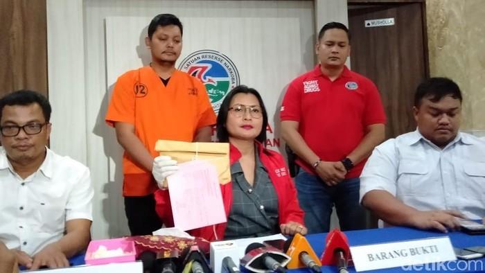 Kasat Narkoba Polres Jaksel Kompol Vivick Tjangkung (Farih Maulana Sidik/detikcom)