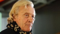 Rutger Hauer dimakamkan pada Rabu (25/7) di Belanda.Amy Sussman/Getty Images