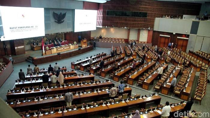 Sebanyak 277 anggota DPR tak hadir Rapat Paripurna penutupan Masa Persidangan V Tahun 2018-2019, Kamis (25/7/2019).