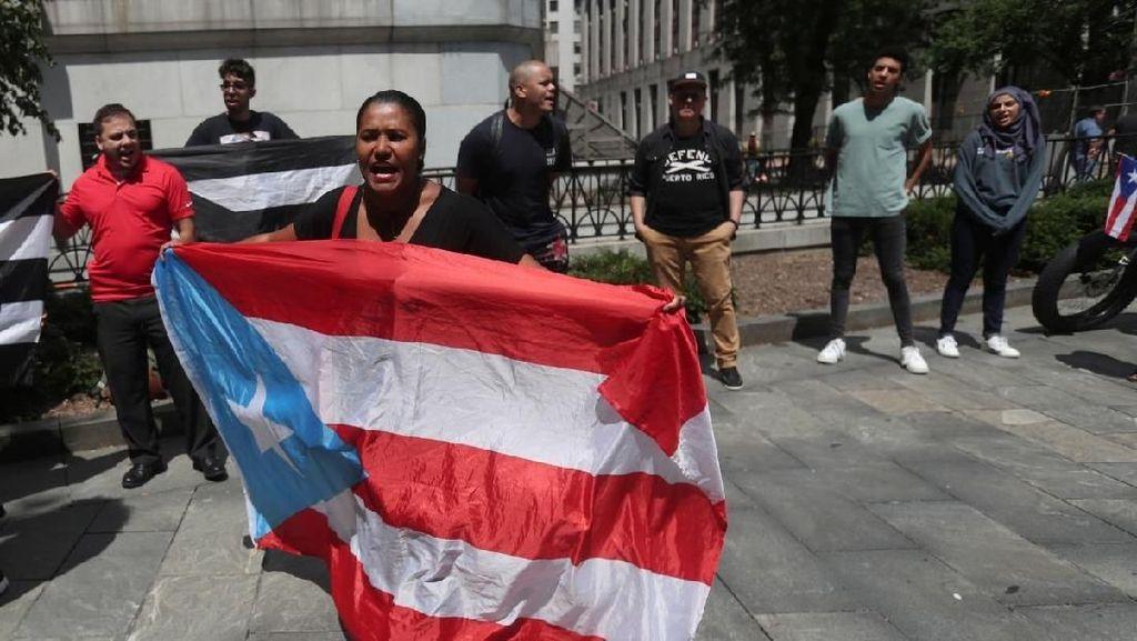 2 Pekan Didemo, Gubernur Puerto Rico Akhirnya Mengundurkan Diri