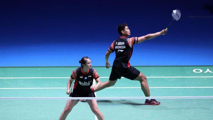 Praveen/Melati dan Tommy Sugiarto lolos ke semifinal Denmark Open 2019. (Foto: dok. Humas PBSI)