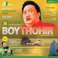 Boy Thohir, Komisaris Baru Gojek